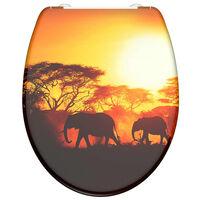 SCHÜTTE Toiletbril met soft-close quick-release AFRICA