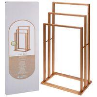 Bathroom Solutions Handdoekenrek met 3 stangen bamboe
