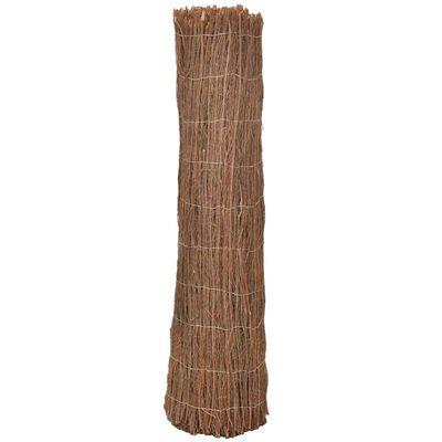 vidaXL Scherm 600x125 cm rijshout