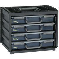 Raaco assortimentsdoos Handy Box met 55x4 Assorters 136242