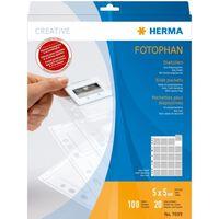 HERMA 7699 hoesje Transparant