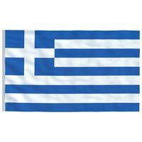 vidaXL Vlag Griekenland 90x150 cm