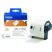 Brother DK-11202 Etiket Zwart op wit (62 mm x 100  mm)