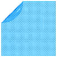 vidaXL Solar zwembadfolie drijvend rond 455 cm PE blauw
