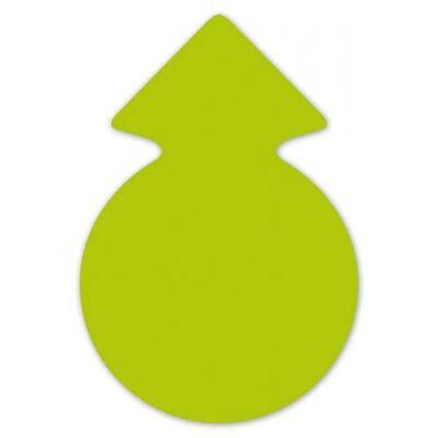 Reclame Cirkel Pijlen Neongroen 23 Cm 20 X