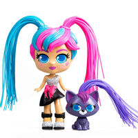 Silverlit Speelgoedset Curli Girls Milli and Vogue meerkleurig