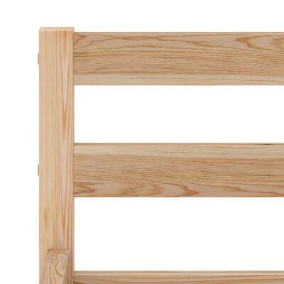 vidaXL Bedframe met 2 lades massief grenenhout 160x200 cm