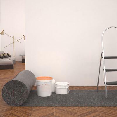 vidaXL Schildersvlies anti-slip 50 m 180 g/m² grijs 2 st