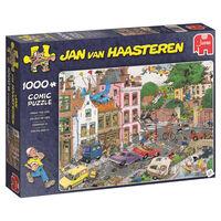 Jumbo legpuzzel Jan van Haasteren Vrijdag de 13e 1000 stukjes