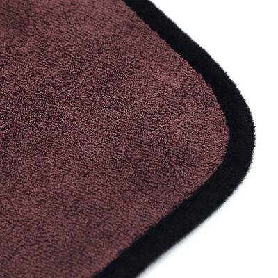 Dubbelzijdige microvezeldoek 3-pack - bruin