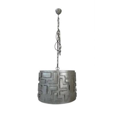 Cylinder Lamp Vintage Nickel