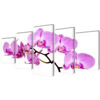 Canvasdoeken Orchidee 100 x 50 cm