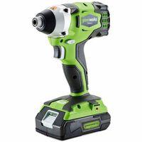 "Greenworks Slagmoersleutel zonder 24 V accu 1/4"" GD24ID 3801407"