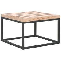vidaXL Salontafel 50x50x33,5 cm massief hout