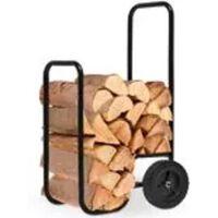 Monzana Houtwagen, houttrolley, houtkar