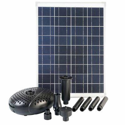 Ubbink SolarMax 2500 set met zonnepaneel en pomp