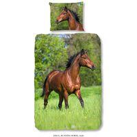 Good Morning Kinderdekbedovertrek Running Horse 140x200/220 cm