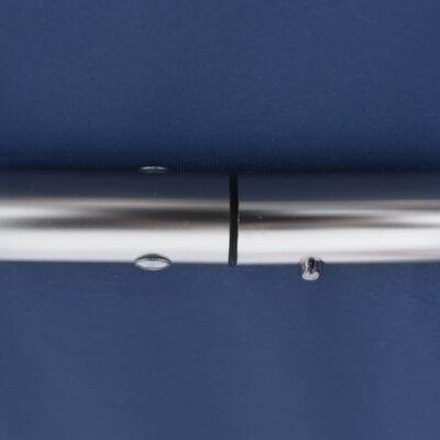 vidaXL Biminitop 3-boogs 183x180x137 cm blauw