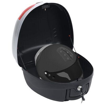 vidaXL Topkoffer voor motor 28 L voor 1 helm