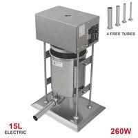 Kukoo Commerciële Elektrische Worstenvuller 15 L