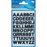 Avery Etiketten cijfers en letters A-Z, 2 blad, zwart, waterbestend...