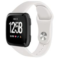 Fitbit Versa Rubberen Armband Offwhite (s)