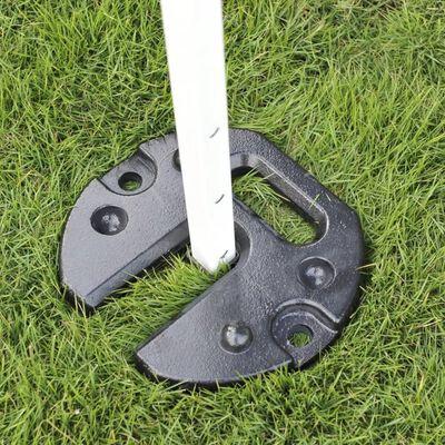 SORARA Parasolvoet Gewicht Plaat - Grijs - Staal - Stapelbaar - 8kg