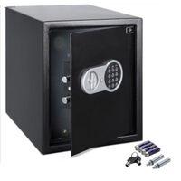 Monzana Kluis met elektronisch slot incl. licht deurdikte 4mm zwart