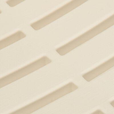 vidaXL Tuinstoelen 4 st kunststof wit