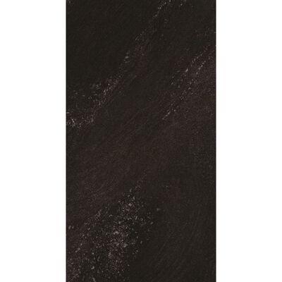 Grosfillex 11 st Wandtegels Gx Wall+ steen 30x60 cm zwart
