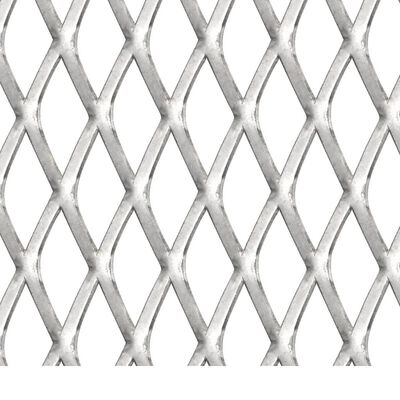 vidaXL Draadhek 50x50 cm 20x10x2 mm roestvrij staal
