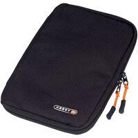 Abbey organizer tas voor accessoires 22 x 16 x 2 cm zwart