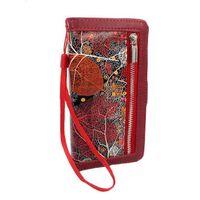 Hem Apple Iphone Xr Red Leafs/ Book Case / Boekhoesje/ Telefoonhoesje