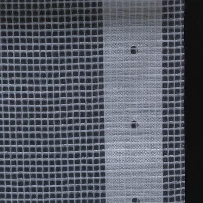 vidaXL Leno dekzeil 260 g/m² 4x20 m wit