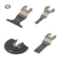 wolfcraft Oscillerende multi-tool accessoireset 5-delig PRO 3961000