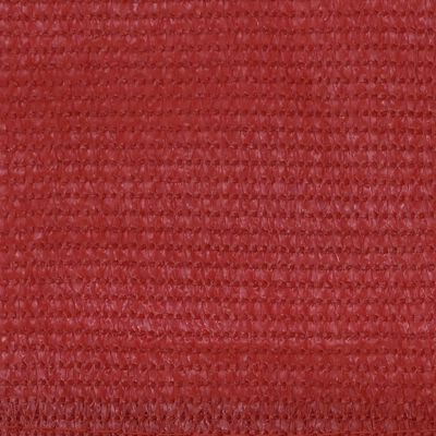 vidaXL Balkonscherm 90x400 cm HDPE rood