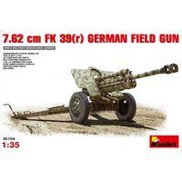 Miniart - 7,62 Cm F.k. 39 ® German Field Gun (min35104) - Model