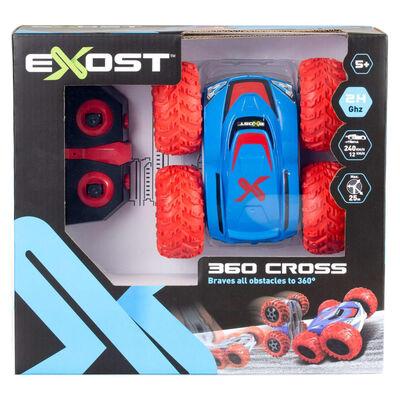 Exost Stuntauto radiografisch bestuurbaar 360 Cross II blauw