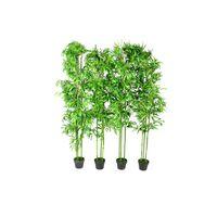 Bamboe kunstboom set van 4