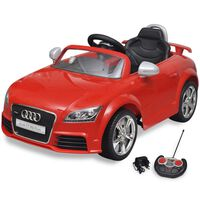 vidaXL Elektrische auto Audi TT RS met afstandsbediening rood