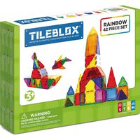 Tileblox Rainbow set 42-delig