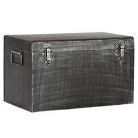 LABEL51 Opbergbox Vintage S 30x15x20 cm antiekzwart