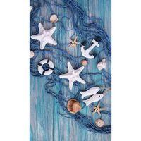 Good Morning Strandlaken KEVIN 100x180 cm blauw