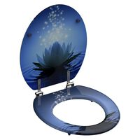 SCHÜTTE Toiletbril WATER LILLY MDF