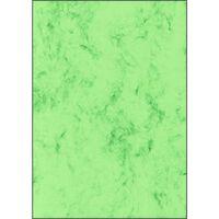Structuurdesign Sigel A4 200grs pak a 50 vel marmer groen