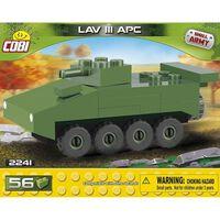 Cobi Small Army LAV III APC Nano bouwset 56-delig 2241