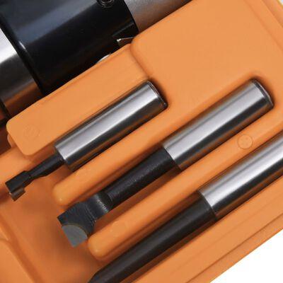 vidaXL 15-delige Boorgereedschapsset met MT3-F1-12 boorkop 50 mm