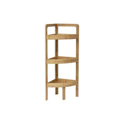 Hoekmeubel gemaakt van Bamboe bestaand uit 3 planken - 85x29x29cm -