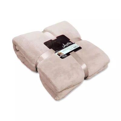 Unique Living Justin fleece plaid - 100% polyester, Fleece polyester