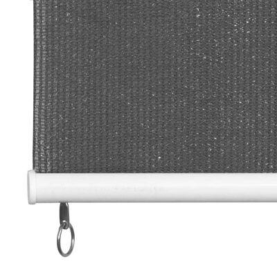 vidaXL Rolgordijn voor buiten 120x140 cm antraciet